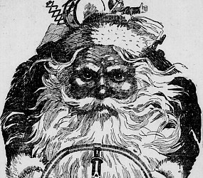Why Santa Clause Should Be Riding A Bike