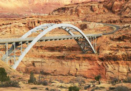 Colorado River Bridge at Glen Canyon