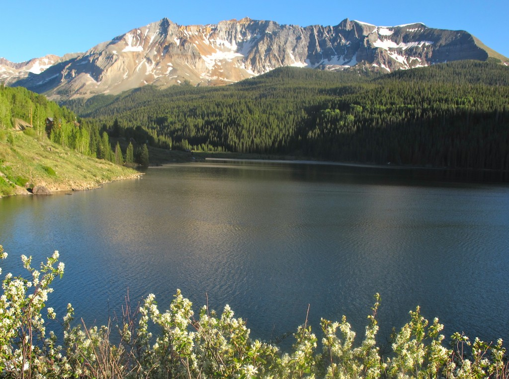 Colorado Bike Tour, Trout Lake