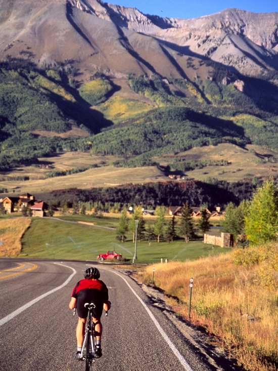 Colorado Bike Tour, Telluride Valley