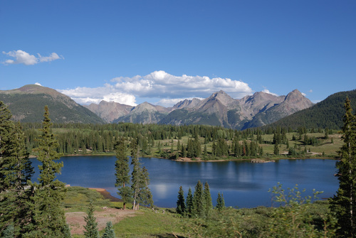 Molas Lake at Molas Pass