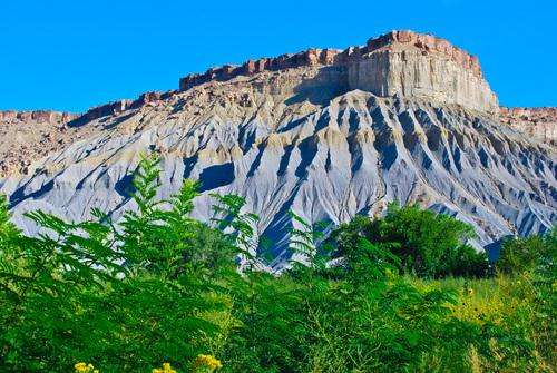 White Erosion near Hanksville, Utah