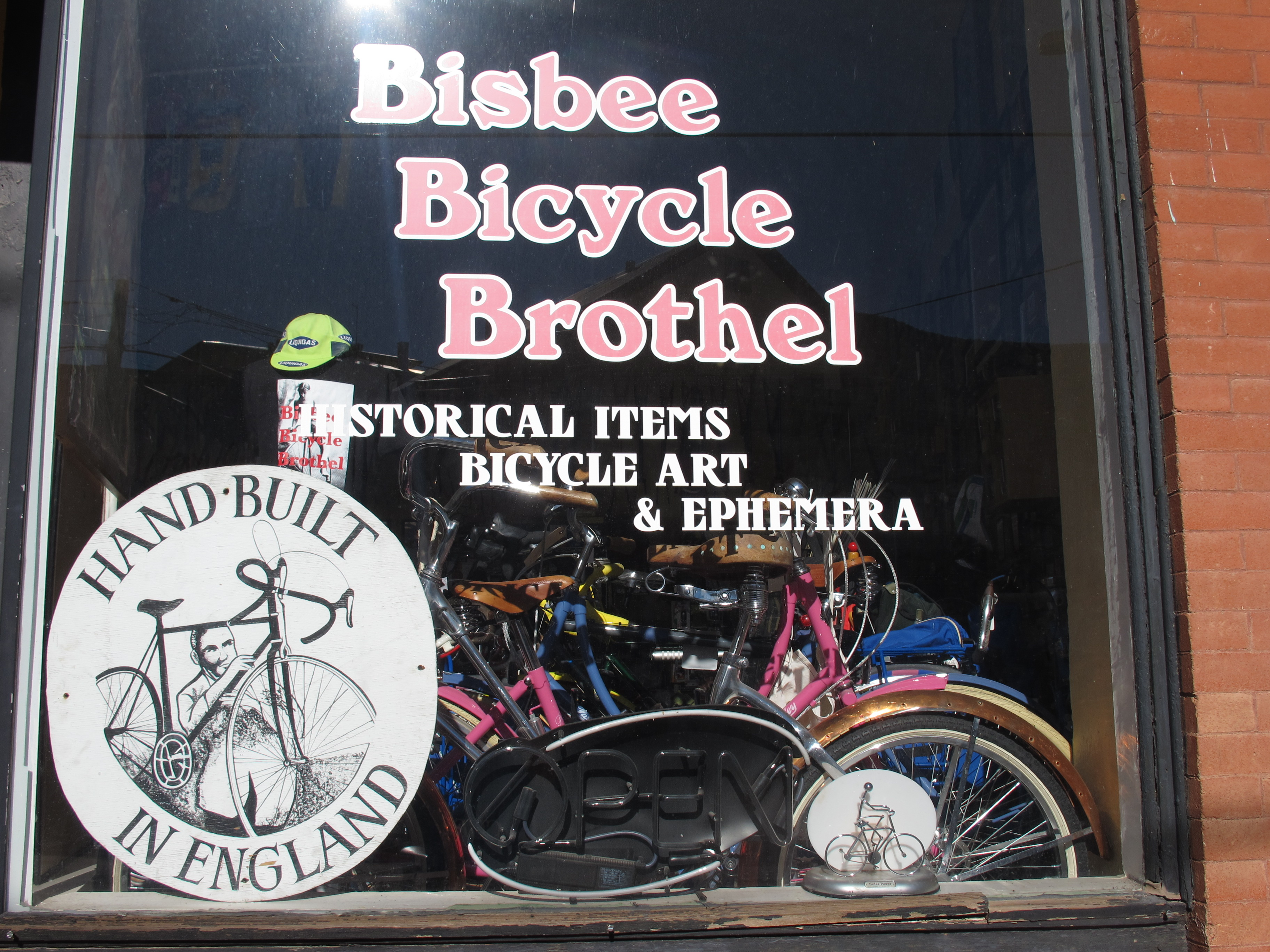 Arizona Bike Tour, Bisbee bike culture