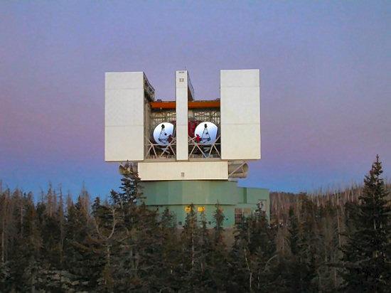 Observatory on Mt. Graham