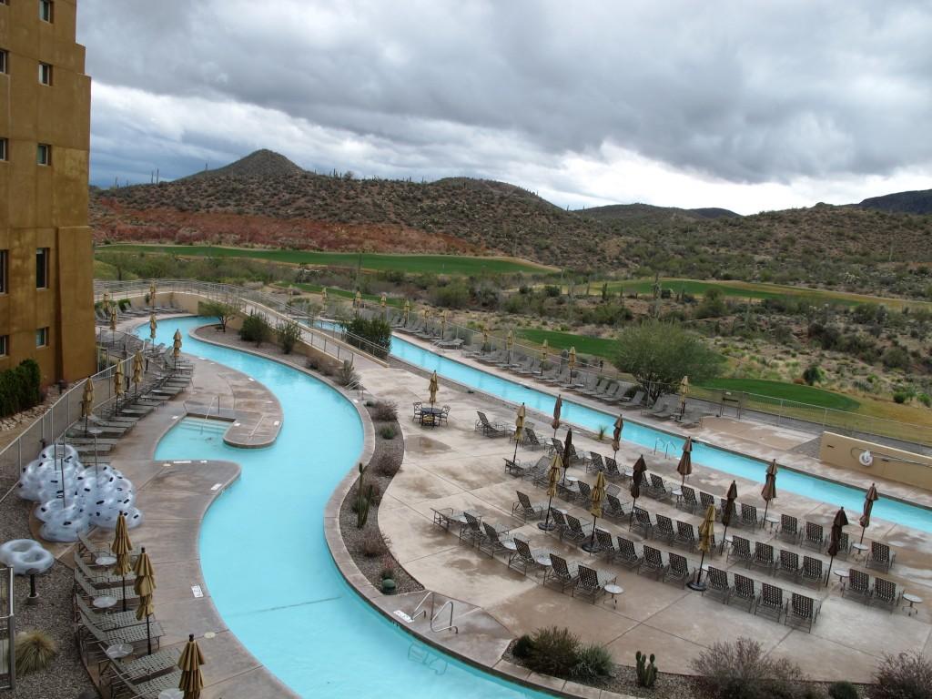 Arizona Bike Tour, Marriot Starr Pass Resort