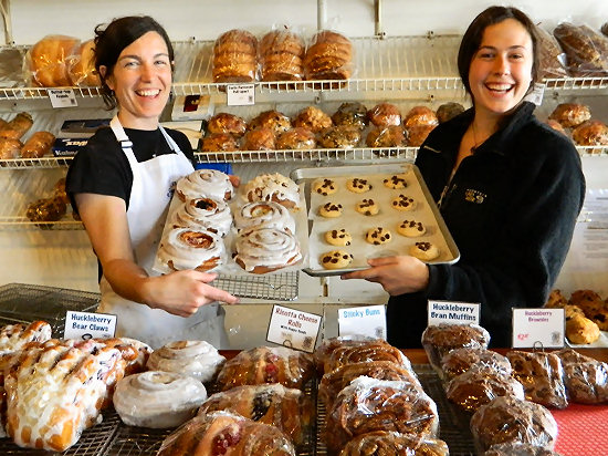 The best baked goods in Montana at The Polebridge Mercantile
