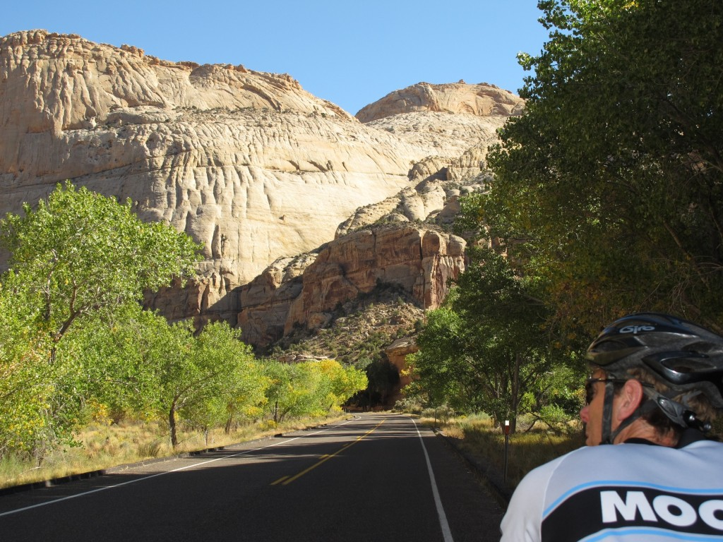 Riding in Capital Reef National Park