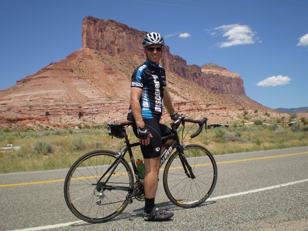 Colorado Bike Tour, Palisade Butte