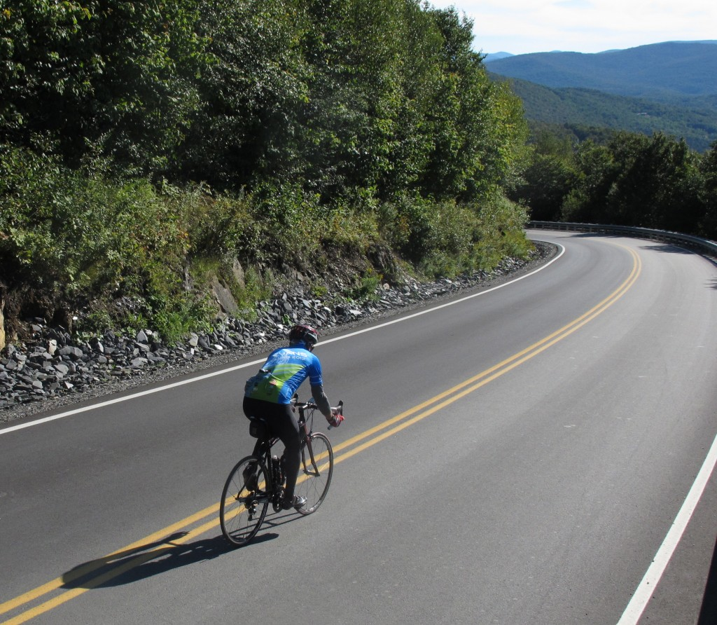 New York and Vermont to Montreal Bike Tour, Roxbury Gap