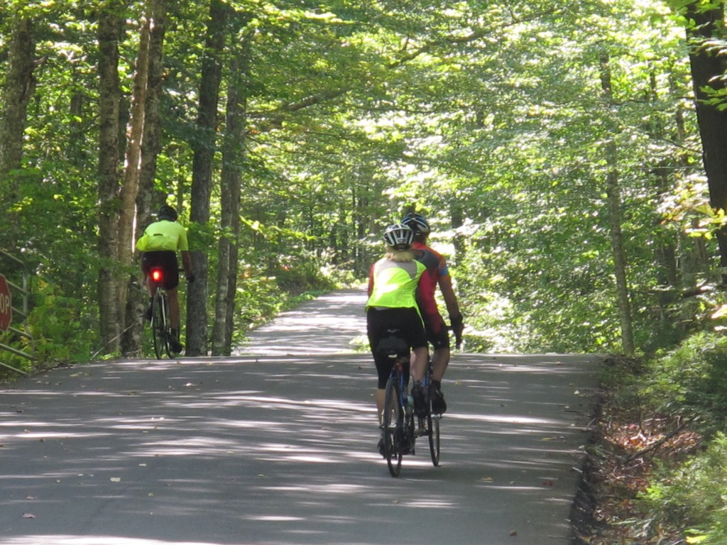 New York and Vermont to Montreal Bike Tour, Lincoln Gap