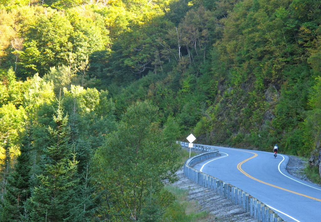 New York and Vermont to Montreal Bike Tour, Appalachian Gap