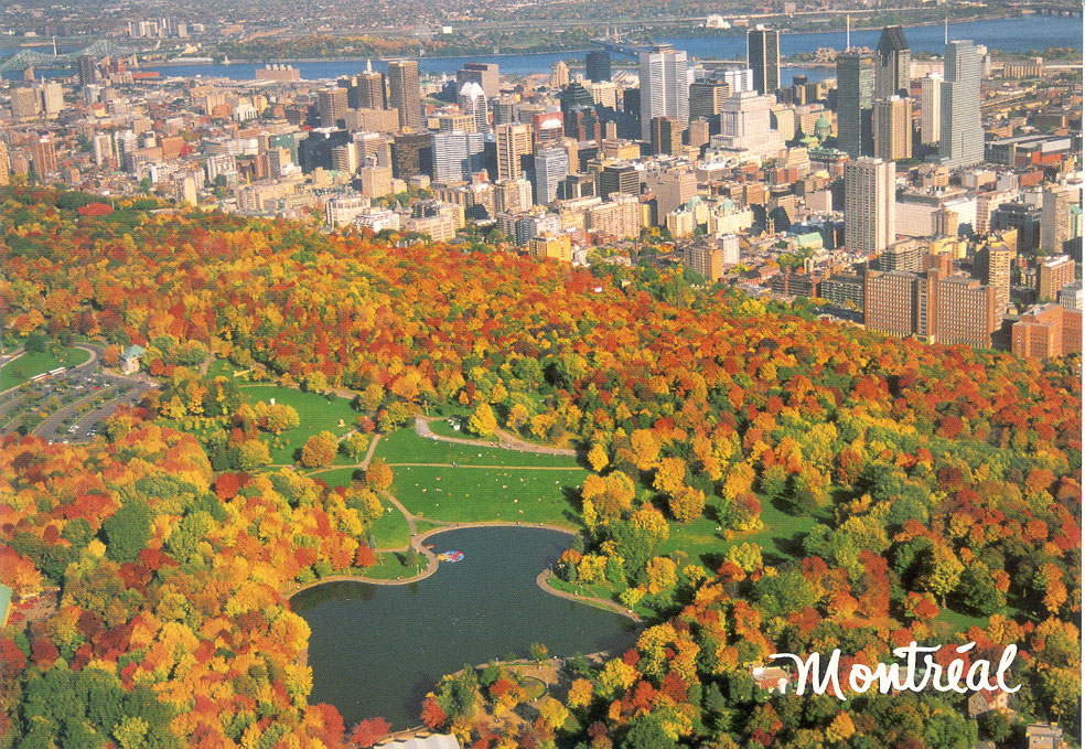 New York and Vermont to Montreal Bike Tour, Mont Royal