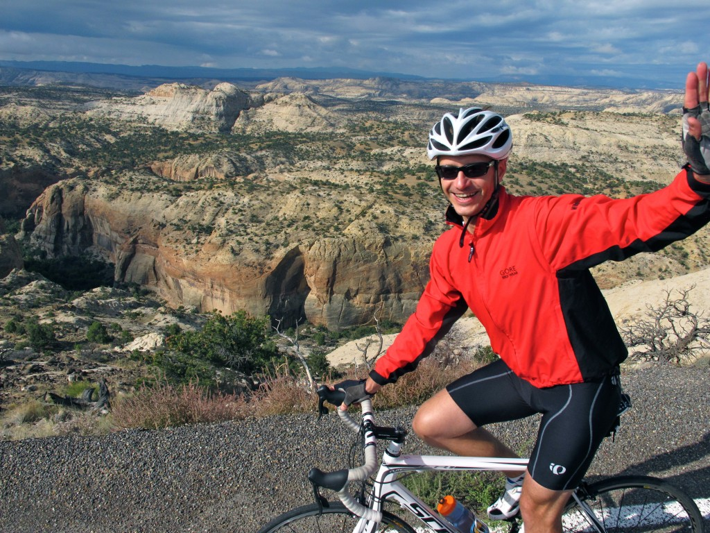 Cycling on Utah's Highway 12