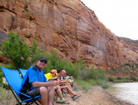 Day 5: Lunch in the Canyons