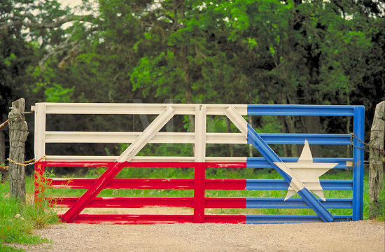 A common scene reminding you that you are in the Heart of Texas!