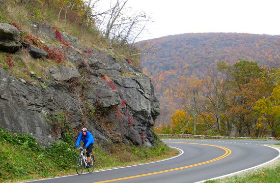 Shenandoah Bike Tour, Skyline Drive