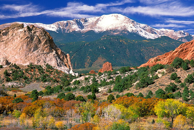 garden of gods:pikes peak