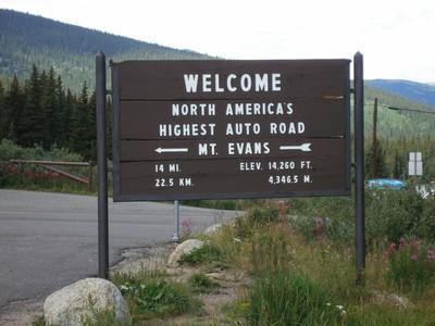 Colorado Climbing Camp, Mt. Evans Scenic Byway