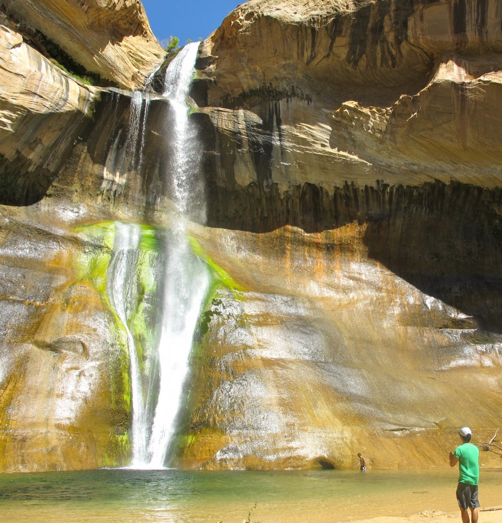 Calf Creek's Hidden Watrerfall