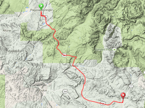Day 10 Route Map