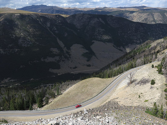 Along Beartooth Pass