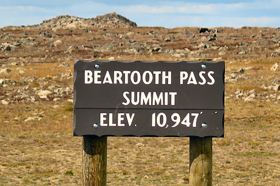 Beartooth Pass Summit
