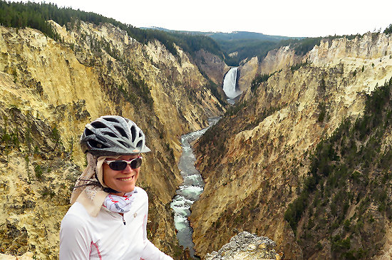 Above the Grand Canyon of the Yellowstone