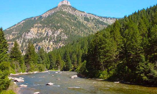 Gallatin River Canyon