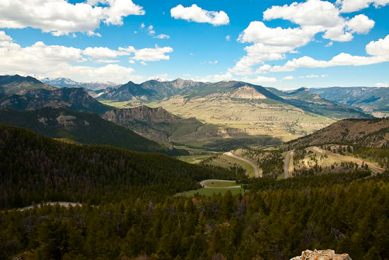 View from Chief Joseph Scenic Byway