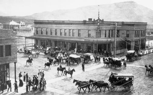 "Buffalo Bill's Irma Hotel ""back in the day""..."