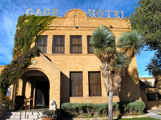 Gage Hotel in Marathon, Texas