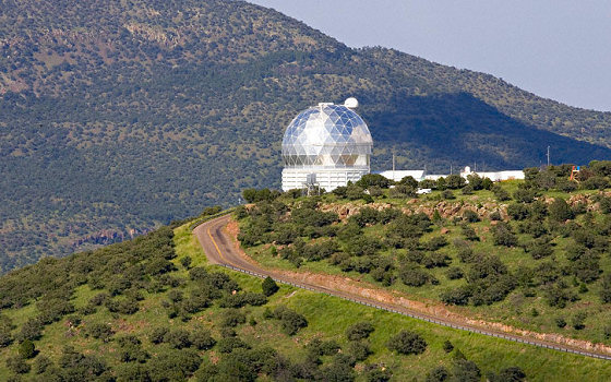 The Hobby-Eberly Telescope at the McDonald Observatory