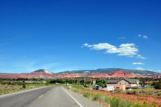 Along Highway 12 near Torrey, Utah