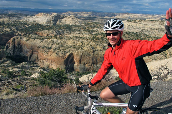 Riding along Utah's world-class Highway 12
