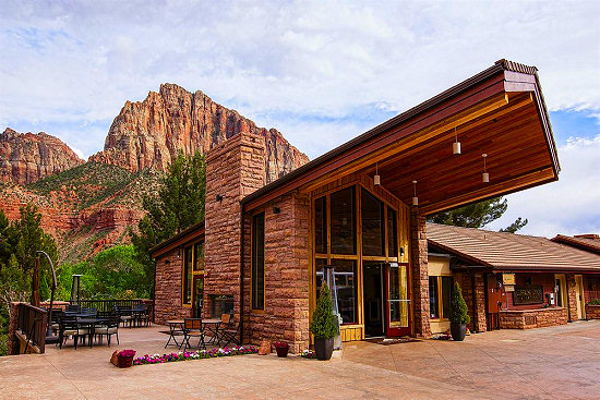 The Cliffrose Lodge in Springdale, Utah