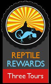 Reptile Rewards Three Years