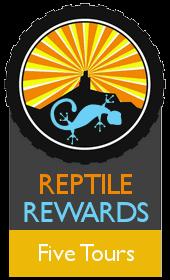 Reptile Rewards Five Years