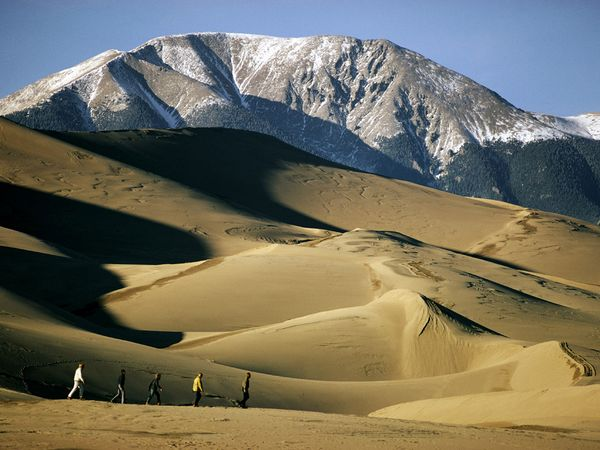 Hiking in the Great Sand Dunes