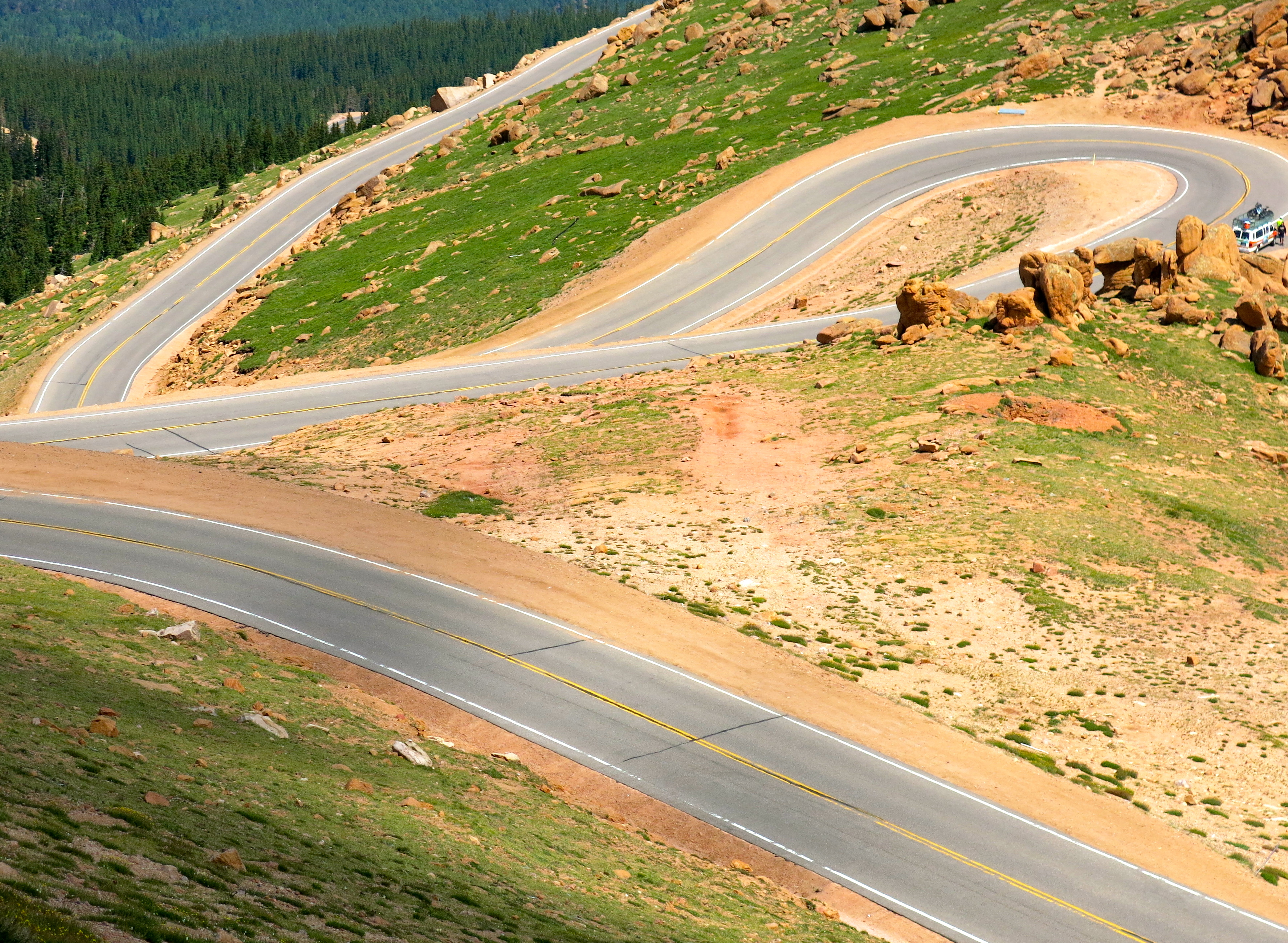 Pike's Peak's Switchbacks