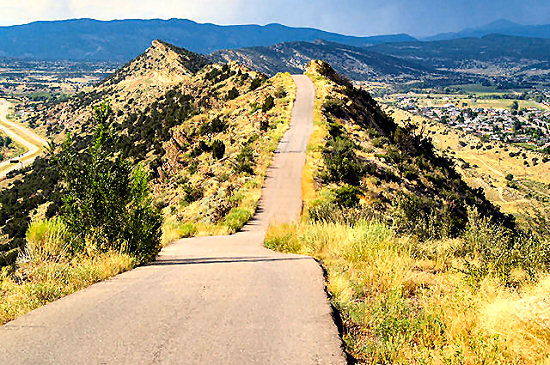 Skyline Drive above Cañon City
