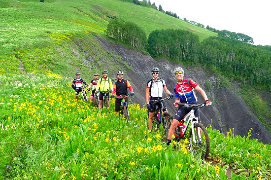 Optional singletrack mountain biking in Crested Butte