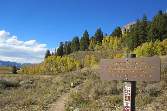 The Whetstone Vista trailhead
