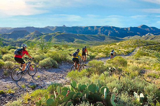 Mountain biking in Big Bend Ranch State Park