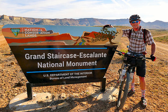 Grand Staircase-Escalante National Monument Hayduke Trail