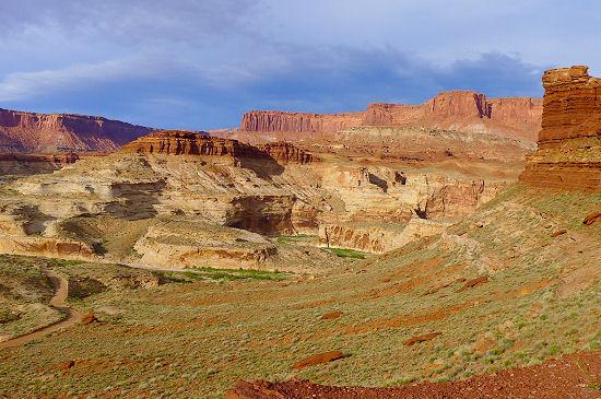 The views on Day 8 Trans Utah Hayduke Trail