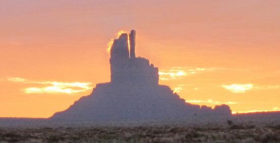 Beautiful desert scenery Trans Utah Hayduke Trail