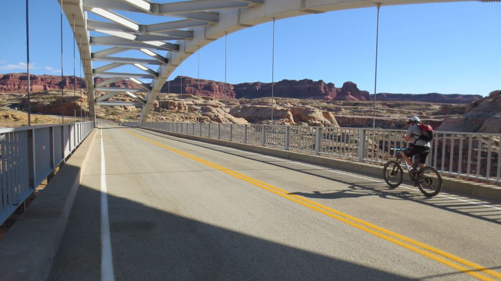 Hite Crossing Bridge Hayduke Trail