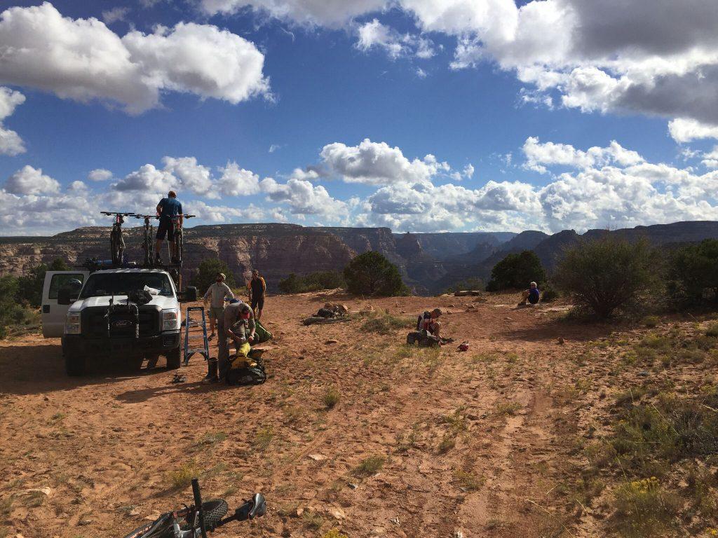Dark Canyon Camp Trans Utah Hayduke Trail