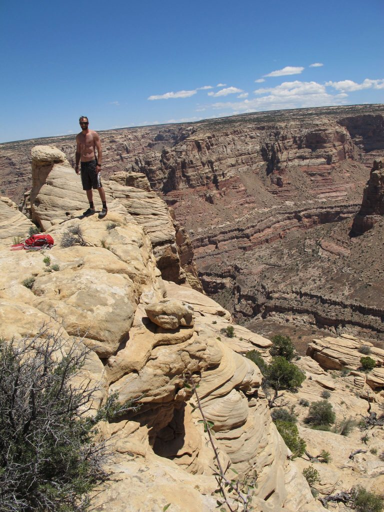 Lunch Trans Utah Hayduke Trail