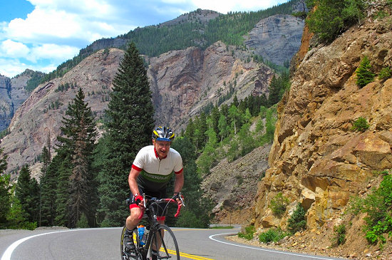 Climbing Red Mountain Pass